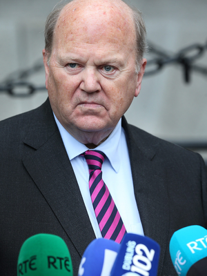 Minister for Finance Michael Noonan has had surgery