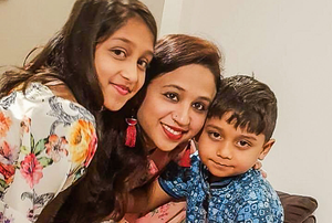 Seema Banu and her tragic children