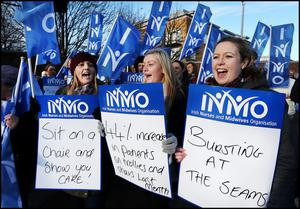 INMO protest Beaumont Hospital