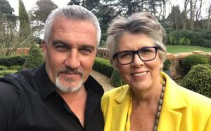 Paul Hollywood with Prue Leith