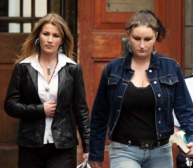 Linda and Charlotte Mulhall became known as the 'Scissor Sisters' after the killing of Farah Noor