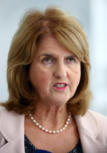 Tanaiste and Minister for Social Protection Joan Burton
