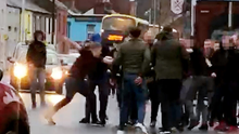 Fighting breaks out after Saturday's match in Dalymount