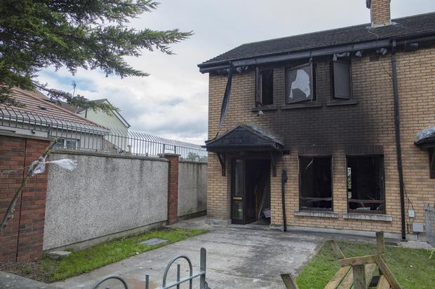 The house in Dundalk was gutted by fire