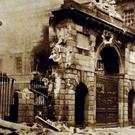 Destruction at the Four Courts in Easter Week