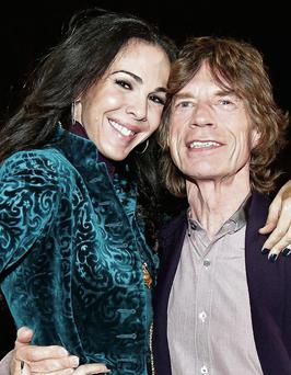 Couple: L'Wren Scott and Mick Jagger were together for more than a decade. Photo: AP