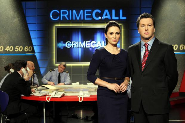Grainne Seoige and Philip Boucher Hayes present Crimecall each month on RTE One.