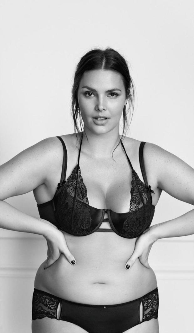 An image from the Lane Bryant campaign