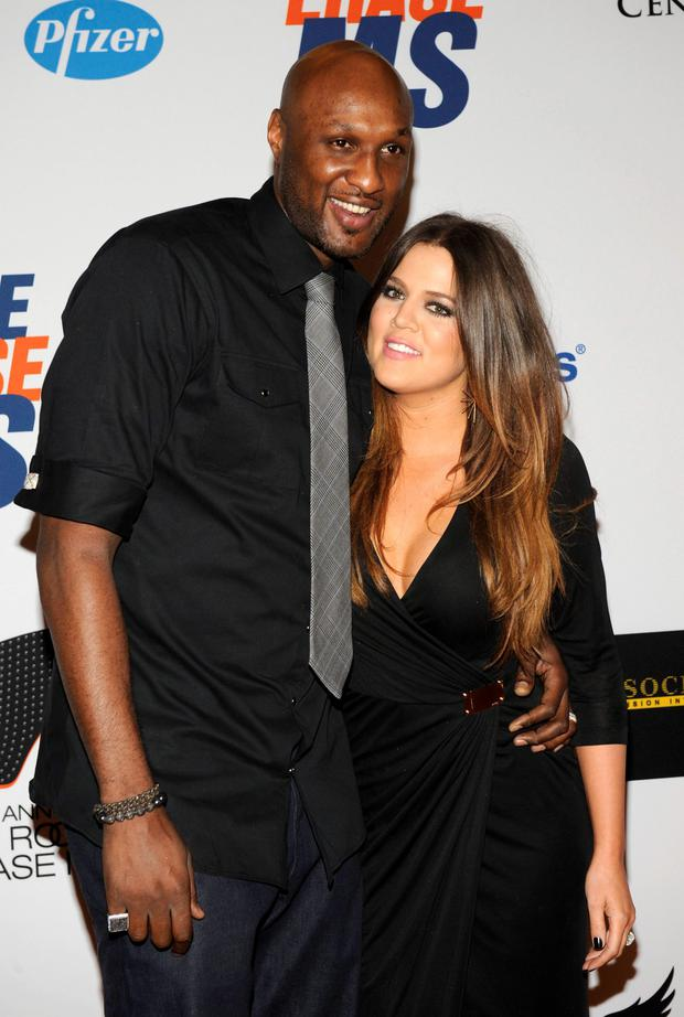 Khloe kardashian and her husband