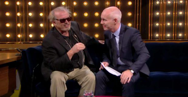 Ray D'Arcy and Jack Nicholson double 'Norman'