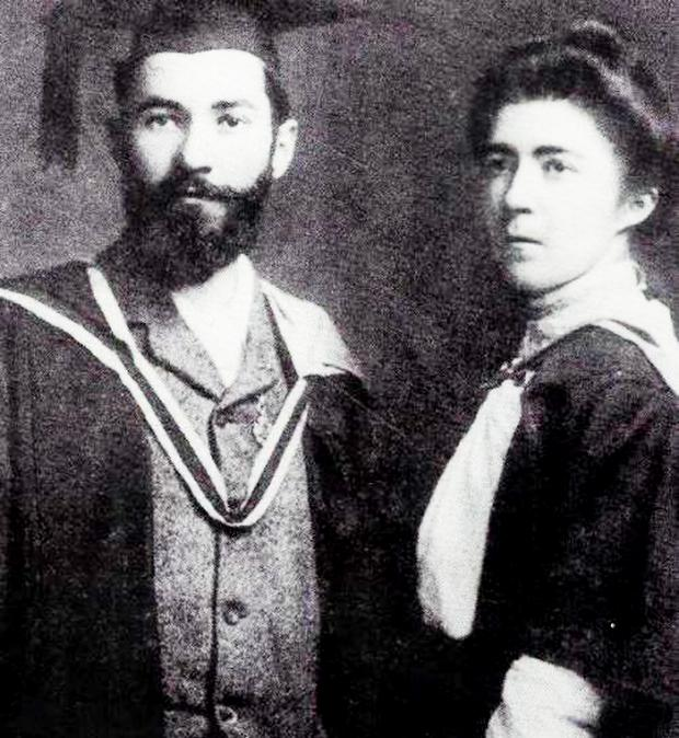 Francis Sheehy-Skeffington and his wife Hanna