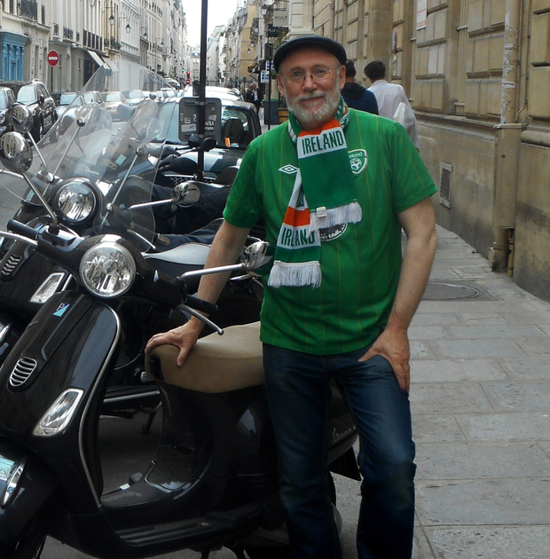 Dermot Bolger in Paris