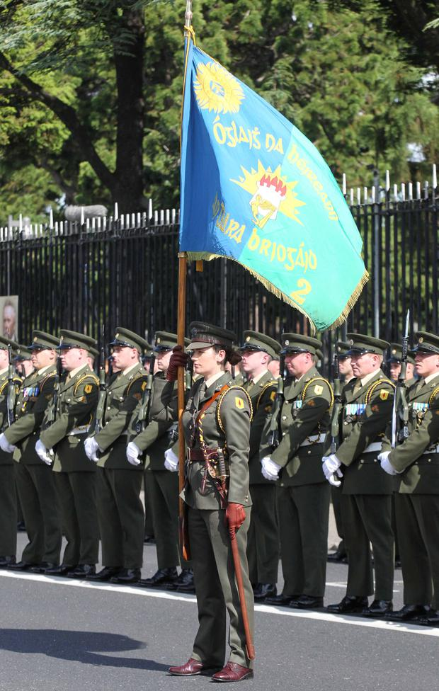 Guard of honour at the State commemoration
