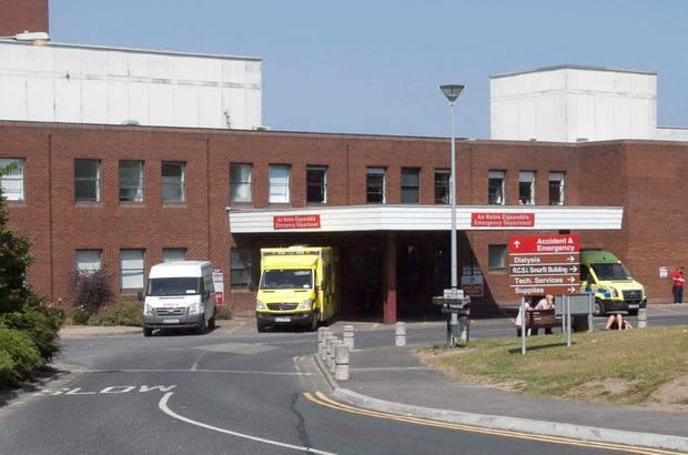 The ED at Beaumont Hospital