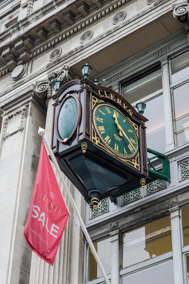 The Clerys clock