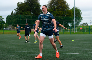 BACK IN ACTION: James Ryan at Leinster squad training in UCD. Photo: Sportsfile