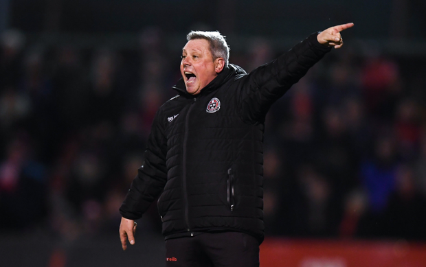 Bohemians manager Keith Long