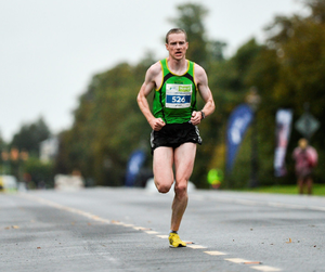 Rathfarnham's Sean Hehir will be heading for the World Track and Field Championships in London after his successful run in last Sunday's London Marathon. Pic: Sportsfile