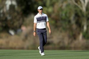 Rory McIlroy hasn't picked up a golf club since the PGA Tour was suspended