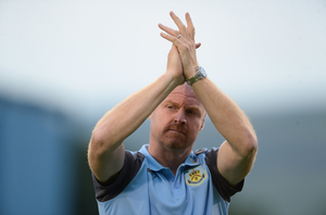 WARNING: Burnley manager Sean Dyche. Pic: Sportsfile