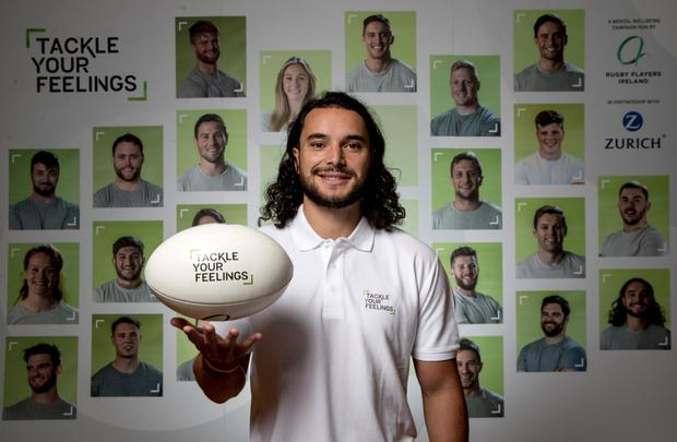 James Lowe relaunches Tackle Your Feelings Mental Wellbeing app and website