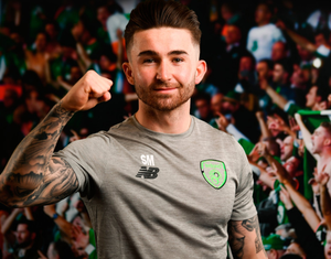 Sean Maguire is ready to prove himself on the international stage. Pics: Sportsfile