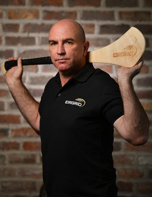 Kilkenny hurling selector DJ Carey pictured at the EirGrid Official Timing Sponsorship launch