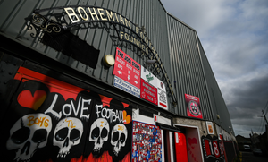 Dalymount Park, home of Bohemian FC. Photo: Sportsfile