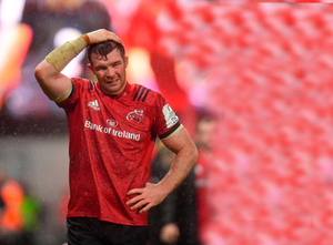 MISSING OUT: Munster captain Peter O'Mahony. Pic: Sportsfile