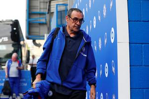 OFFENDED: Maurizio Sarri. Pic: Reuters