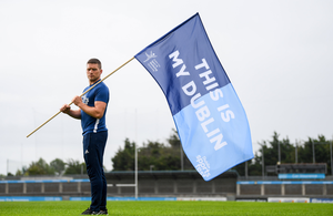 VETERAN: Conal Keaney at Parnell Park for the launch of the #ThisIsMyDublin campaign promoting Dublin City Sportsfest last August