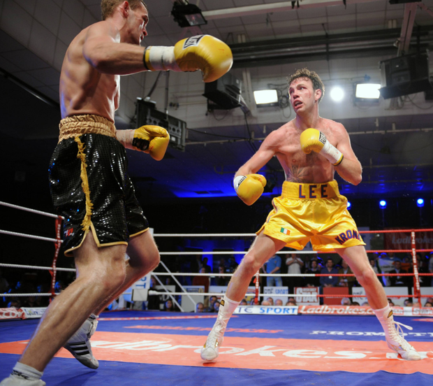 Andy Lee's victory over Jason McKay earned him the Irish super middleweight crown at the National Stadium