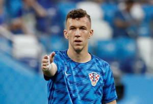 Croatia forward Ivan Perisic. Pic: Reuters