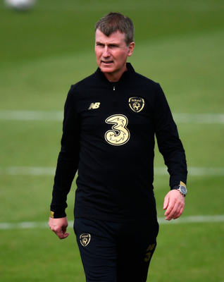PRESSURE: Republic of Ireland manager Stephen Kenny