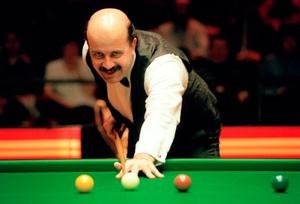 BATTLE: Willie Thorne. Photo: PA