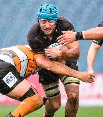 Will Connors of Leinster in action against Toyota Cheetahs at the RDS