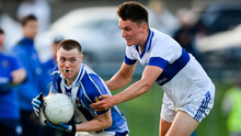 GETTING AWAY: Kieran Kennedy of Ballyboden St Enda's in action against Liam McGovern of St Vincent's during the Dublin SFC match at Pairc Naomh Uinsionn, Marino