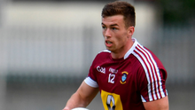 Up against it: Ger Egan in action for Westmeath