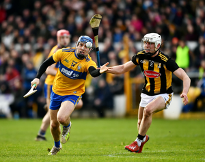 John Conlon of Clare during February's League clash with Kilkenny