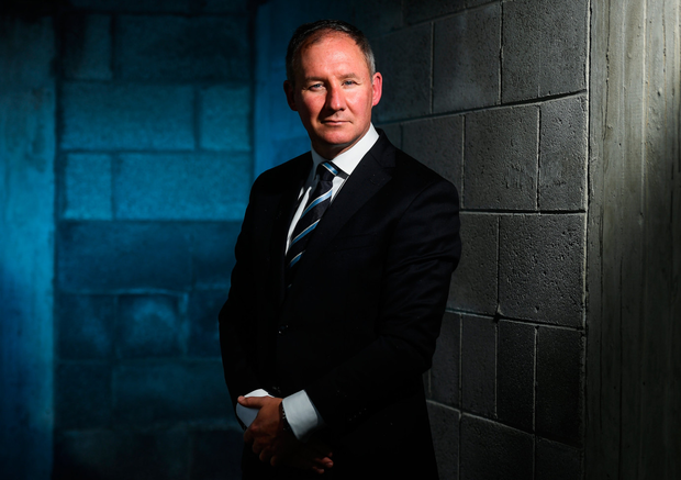 Manager Jim Gavin at a Dublin Football All-Ireland Final Press Conference at Parnell Park
