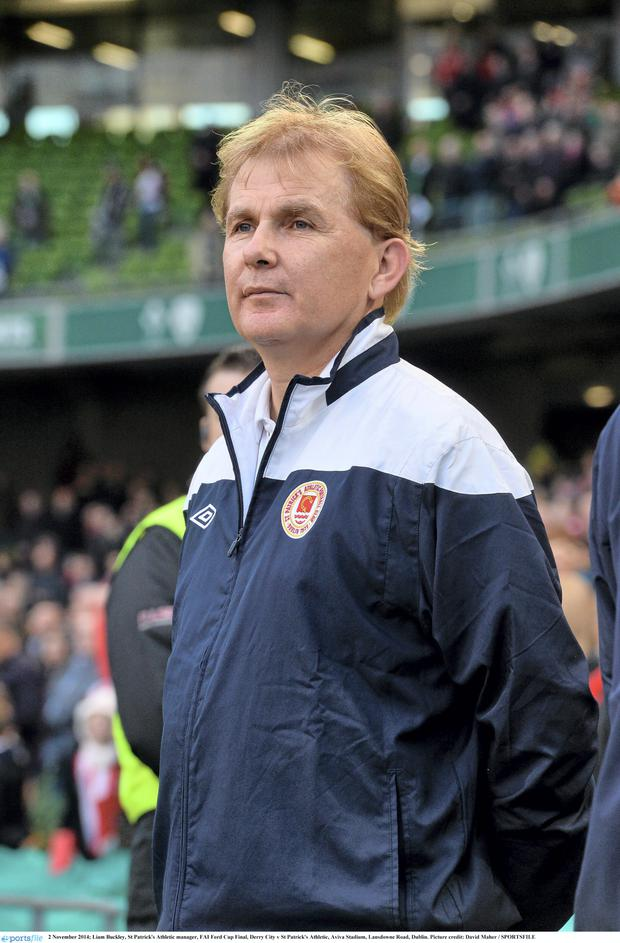Liam Buckley, St Patrick's Athletic manager