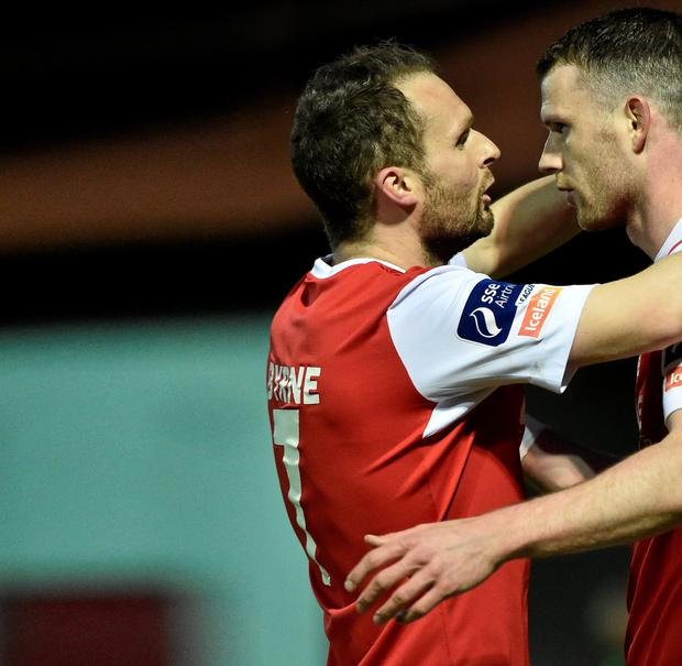 Conan Byrne and Ciaran Kilduff