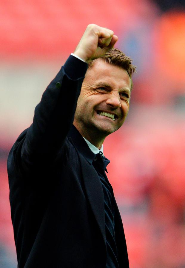 Aston Villa boss Tim Sherwood