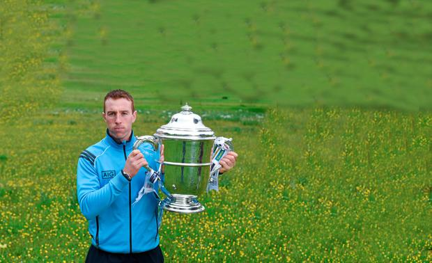 Dublin hurler John McCaffrey in attendance at the launch of the 2015 Leinster GAA Senior Championships. Farmleigh House & Gardens, Phoenix Park