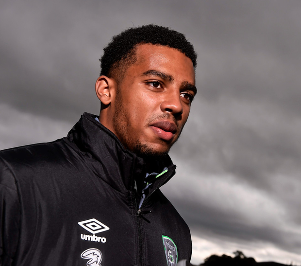 Ireland's Cyrus Christie is looking forward to Thursday's clash with Germany