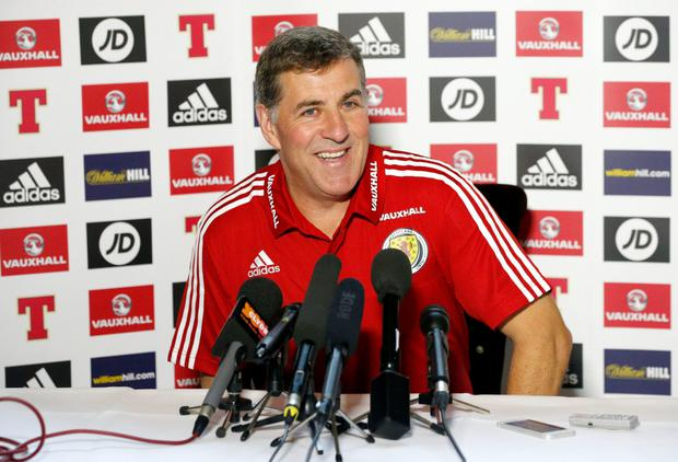 Scotland coach Mark McGhee