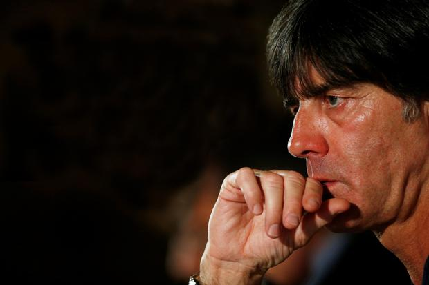 Germany manager Joachim Löw is pictured during a press conference at the Intercontinental Hotel, Ballsbridge, Dublin