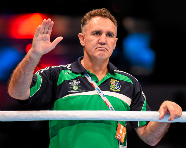 Former Ireland head coach Billy Walsh