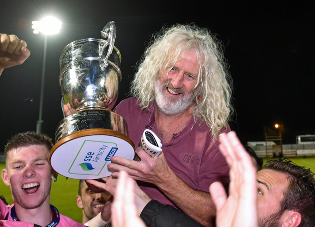 Kevin Doyle can only admire what his old pal and mentor Mick Wallace (pictured) has overseen