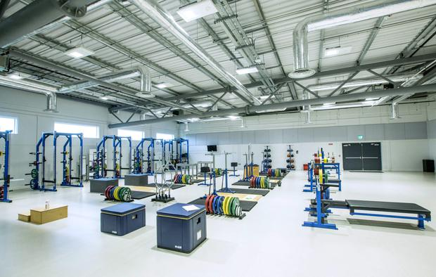 A view of the facilities at the High Performance Training Centre at the National Sports Campus, Dublin Photo:©INPHO/Morgan Treacy
